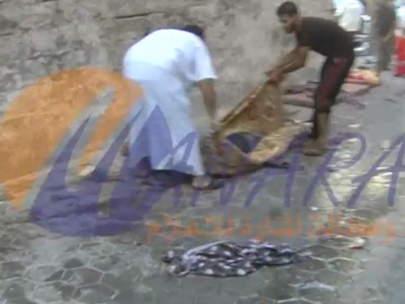 [VIDEO] Impactante: Cámaras captaron bombardeo en mercado de Gaza