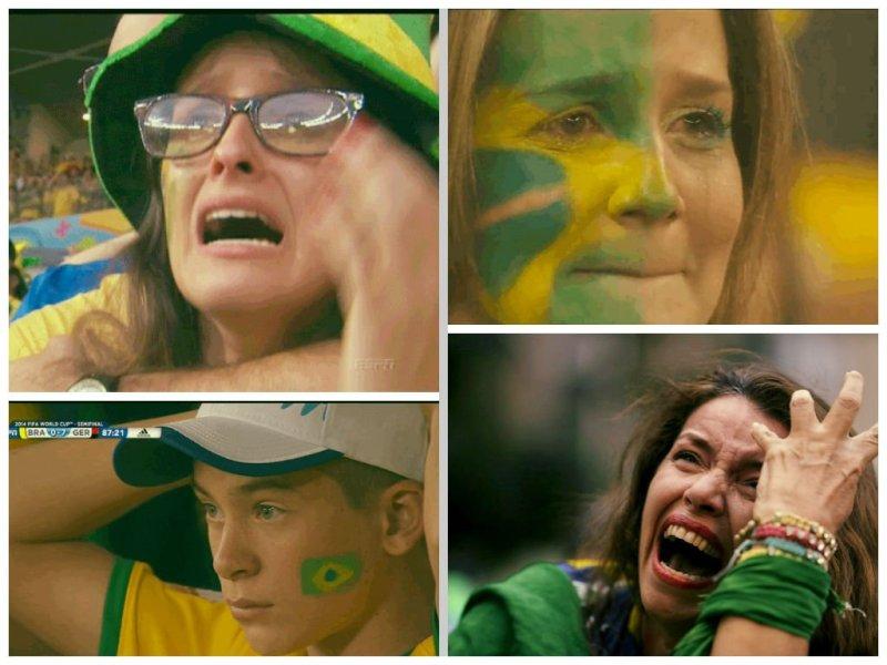 [VIDEO Y FOTOS] El dolor del hincha brasileño tras el 7-1 ante Alemania
