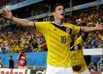 El colombiano James Rodríguez jugó una gran Copa del Mundo, donde su selección llegó por primera vez a los cuartos de final.
