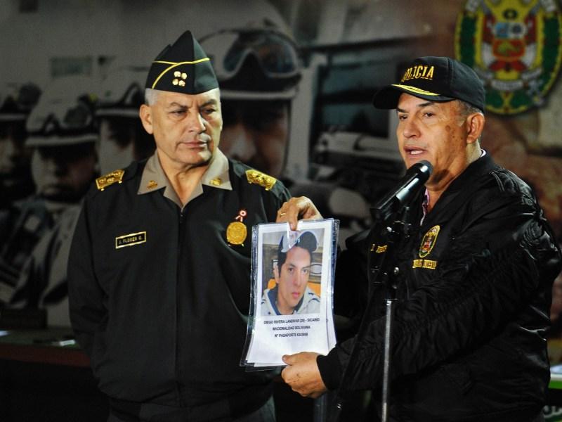 MInistro Urresti revela que boliviano y un peruano son sicarios del caso McDonalds
