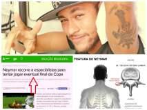 Neymar jugaría final del mundial con tratamiento y si Brasil gana a Alemania
