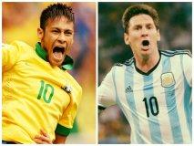 """Neymar: """"Quiero que gane Argentina en la final de Brasil 2014"""""""