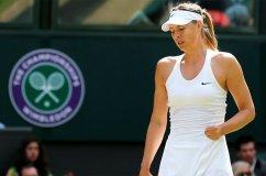 Sharapova fue eliminada de Wimbledon al igual que Serena Williams, Na Li y Radwanska.