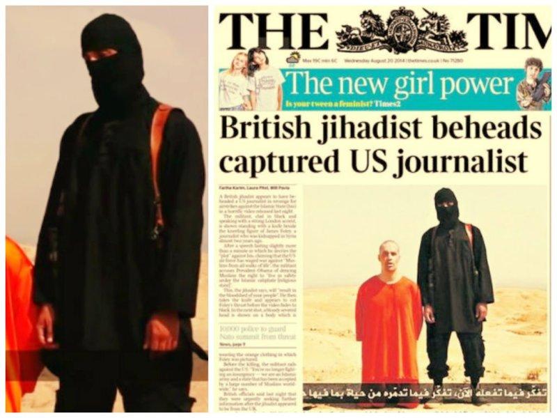 [FOTO] El yihadista que decapitó a periodista norteamericano es británico