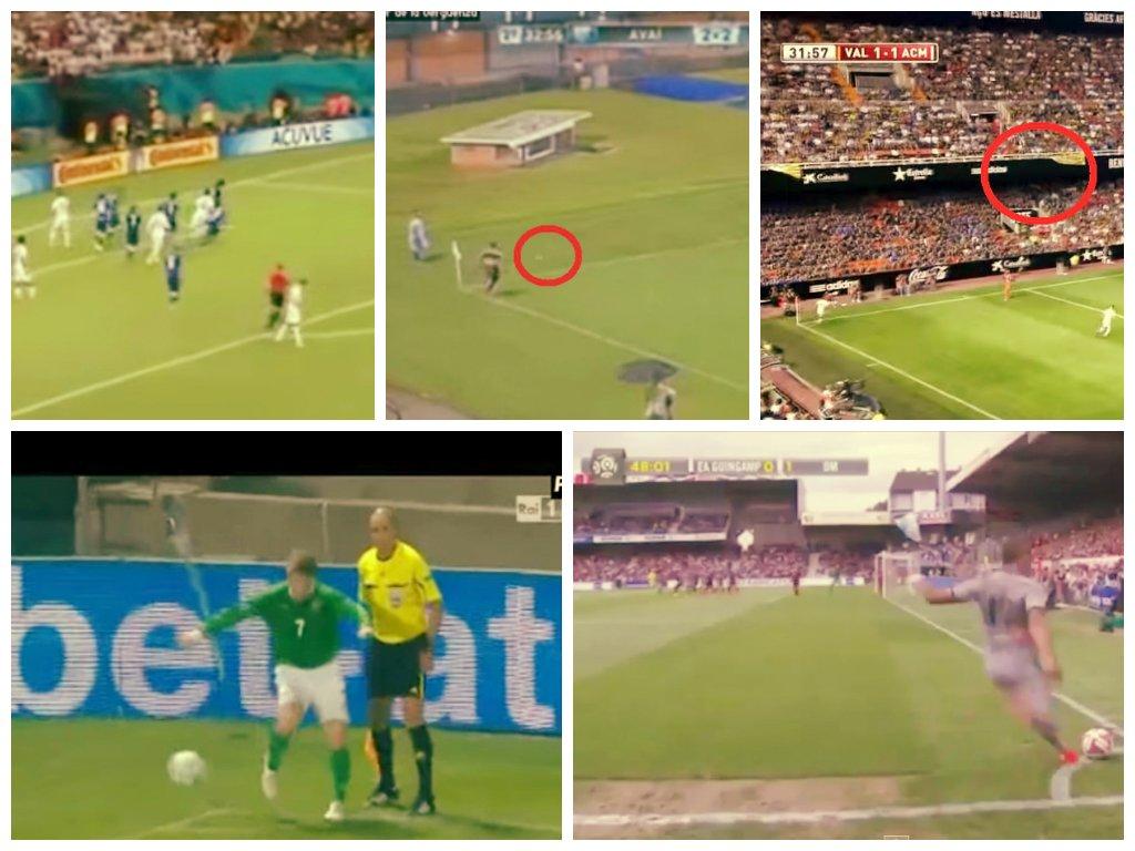 [VIDEOS] Los cinco tiros de esquina peor pateados en el fútbol