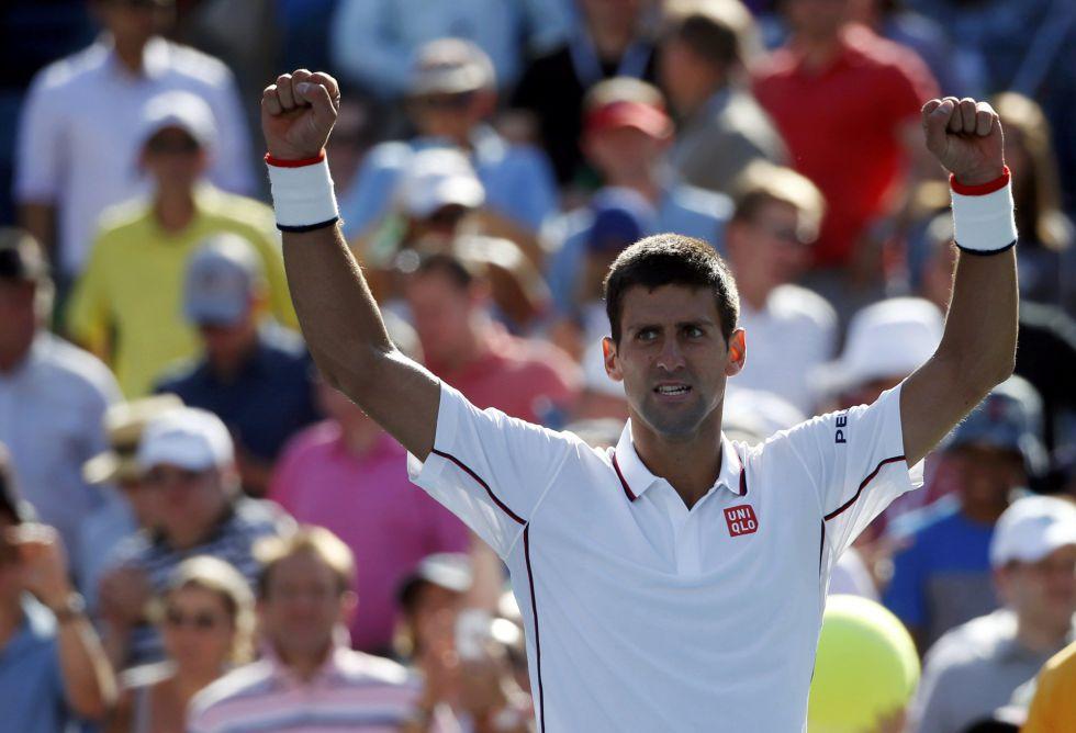 Djokovic casi sin transpirar a Mathieu en el US Open.
