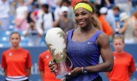 Serena Williams campeonó por primera vez en el WTA Premier 5 de Cincinnati.
