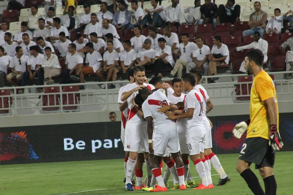 La oncena peruana logró hacerse de la victoria ante Qatar en los últimos diez minutos del partido.