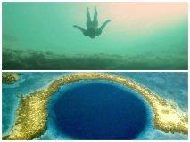[VIDEO] Impactante: Caída libre a 202 metros al fondo del mar sin oxígeno