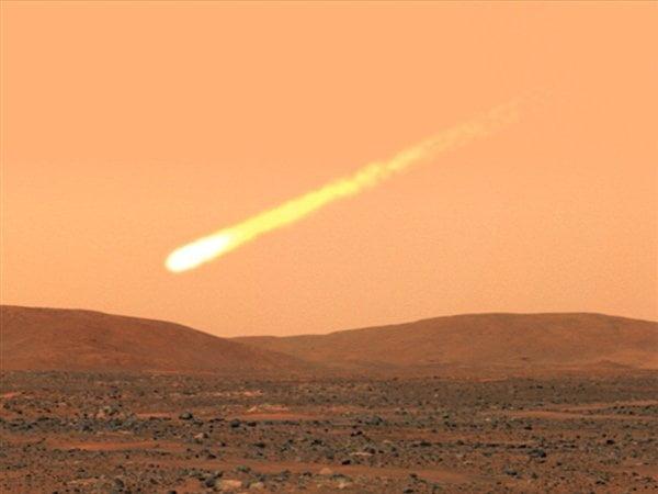 Un cometa casi chocará con el planeta Marte mañana anuncia la NASA