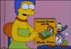 Impactante: Los Simpson y su 'predicción' del ébola en 1997