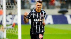 Guerrero anotó en la derrota del Corinthians ante Mineiro.