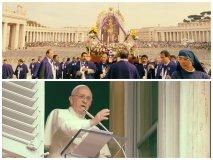 [VIDEO] El Papa Francisco saluda al Señor de los Milagros en Roma