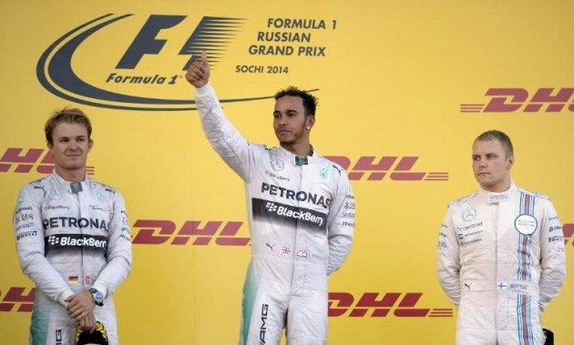 Lewis Hamilton hizo historia al ganar la primera carrera de la F1 efectuada en Rusia.