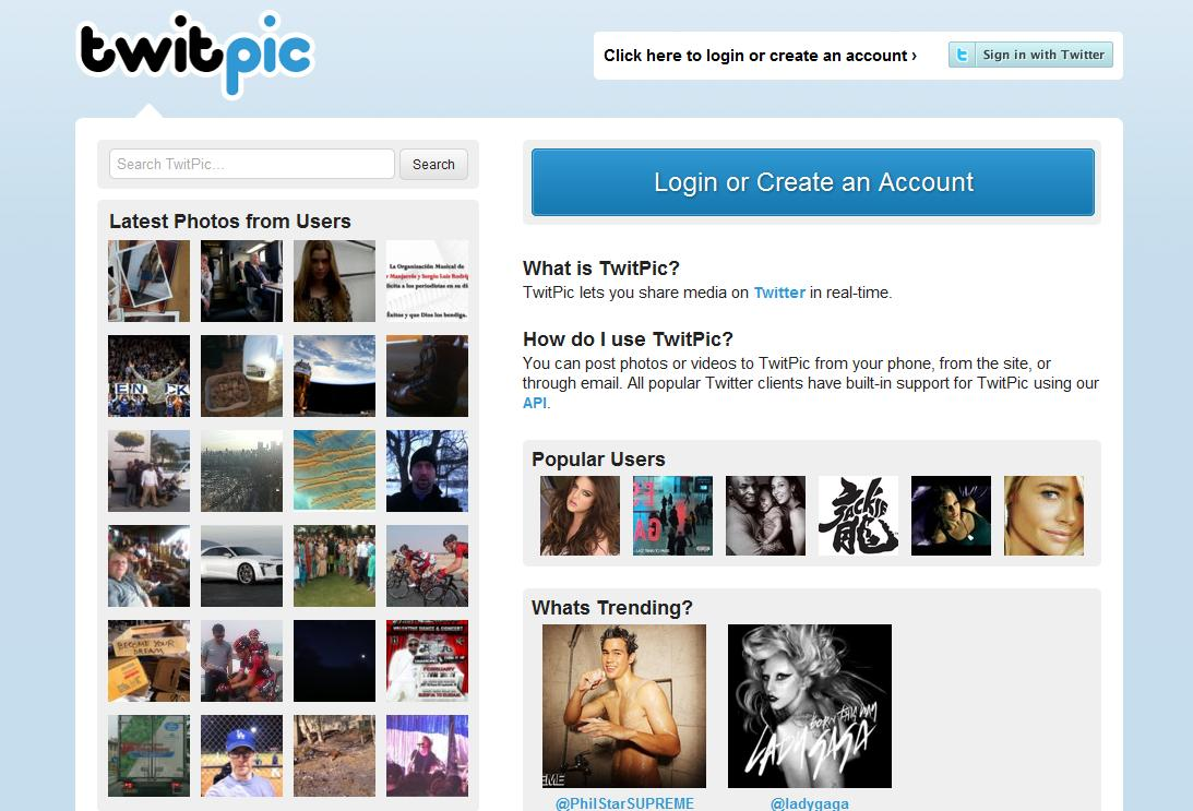 Twitpic 'deja de existir' el 25 de octubre pese a intentos de supervivencia