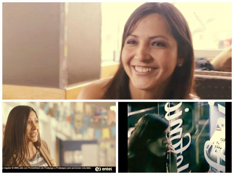 """[VIDEO] Ella fue la """"Rica Miel"""" de Telefónica y ahora es rostro de Entel"""