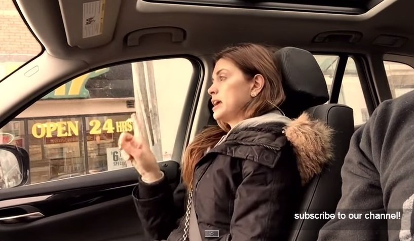 [VIDEO] Grabó a su esposa rapeando y suma millones de visitas en Youtube