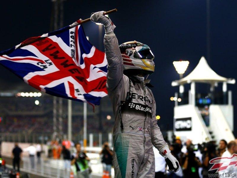 Lewis Hamilton consiguió merecidamente el campeonato mundial de la Fórmula 1.