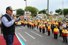 Policía vigilará obras de construcción civil en el Callao contra extorsionadores