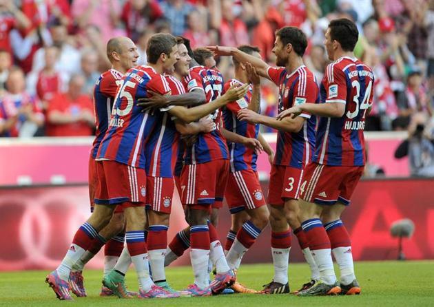 El Bayern Munich no tiene rival en la Bundesliga.