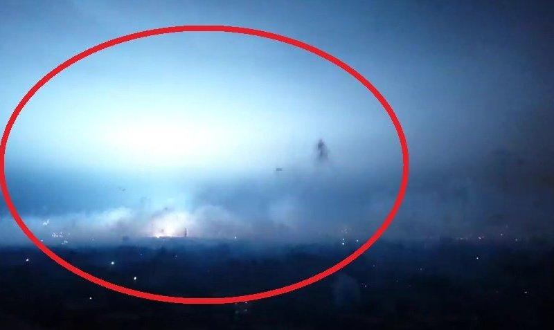 [VIDEO] Navidad: Impactante destello en cielo limeño fue por cable de alta tensión