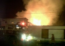 Bomberos sofocaron 16 incendios en una hora durante la noche de Navidad