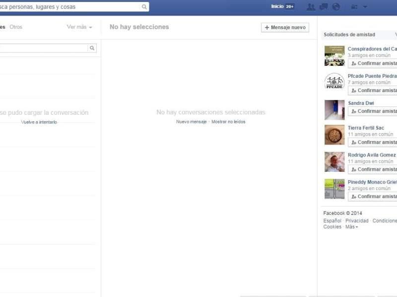Falla Facebook Messenger y usuarios se quejan masivamente en Twitter