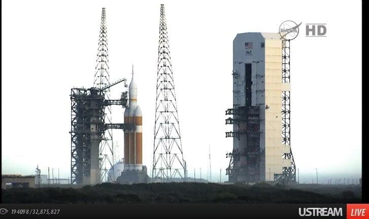 EN VIVO: NASA lanza nave de prueba que llevará humanos a Marte