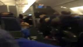 [VIDEO] Impactante: Turbulencia en vuelo de Américan Airlines dejó 14 heridos