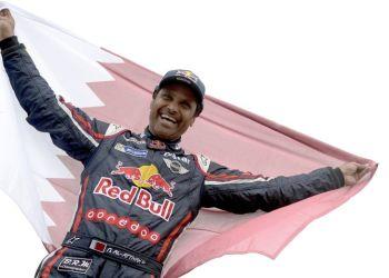 El príncipe catarí Nasser Al-Attiyah celebró el Dakar por segunda vez en su carrera.