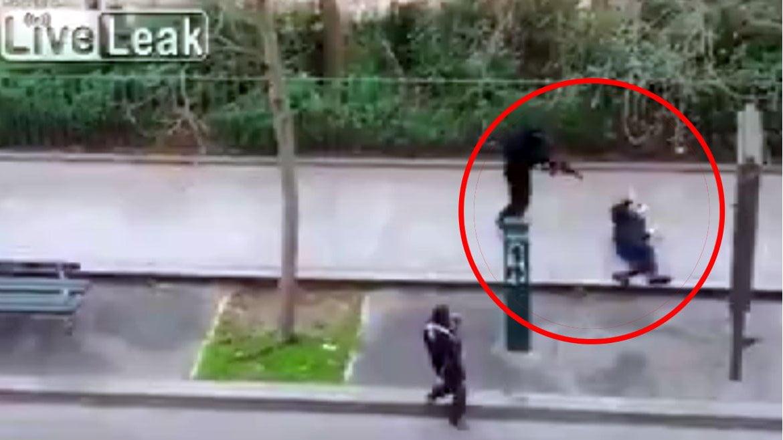 [VIDEO] Terrible: Así ejecutaron terroristas musulmanes a policía herido en Francia