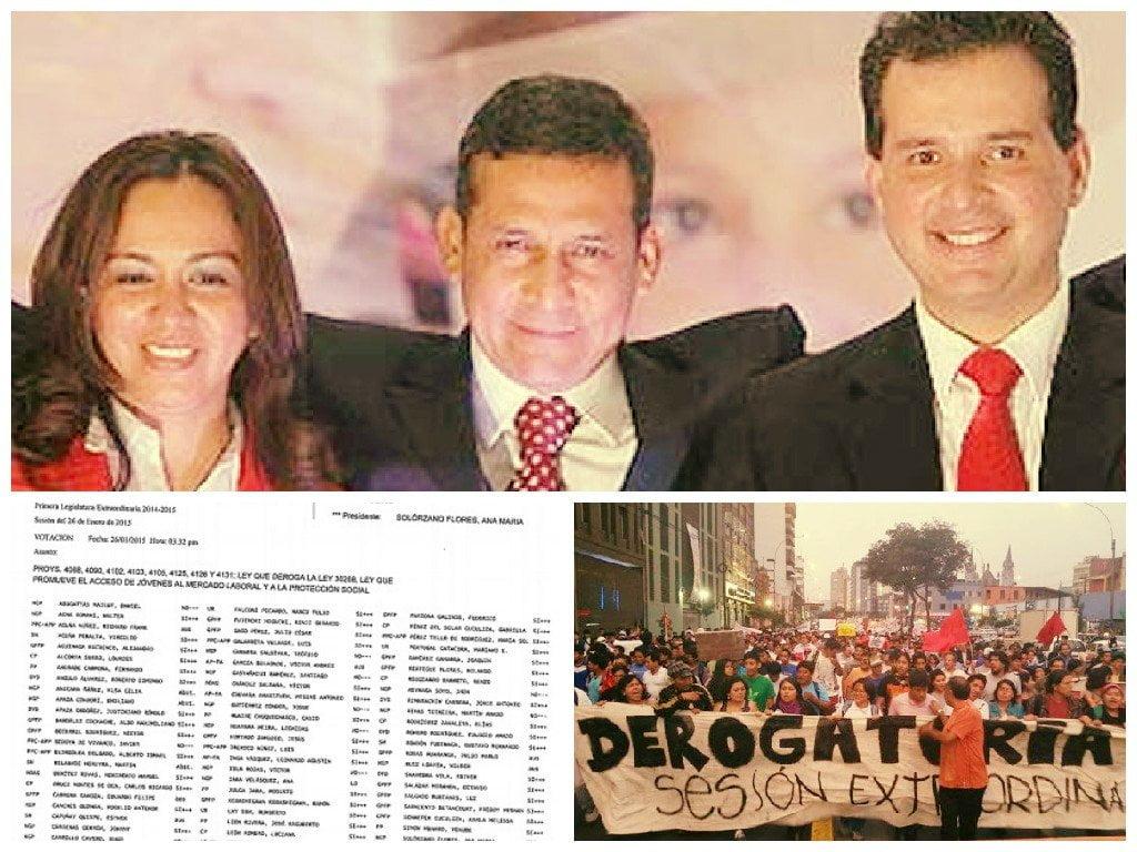 'Ley Pulpín' fue derogada con votos de Marisol Espinoza y Omar Chehade