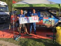 Los Ferrand fueron los mejores competidores peruanos en la edición 2015 del Dakar.
