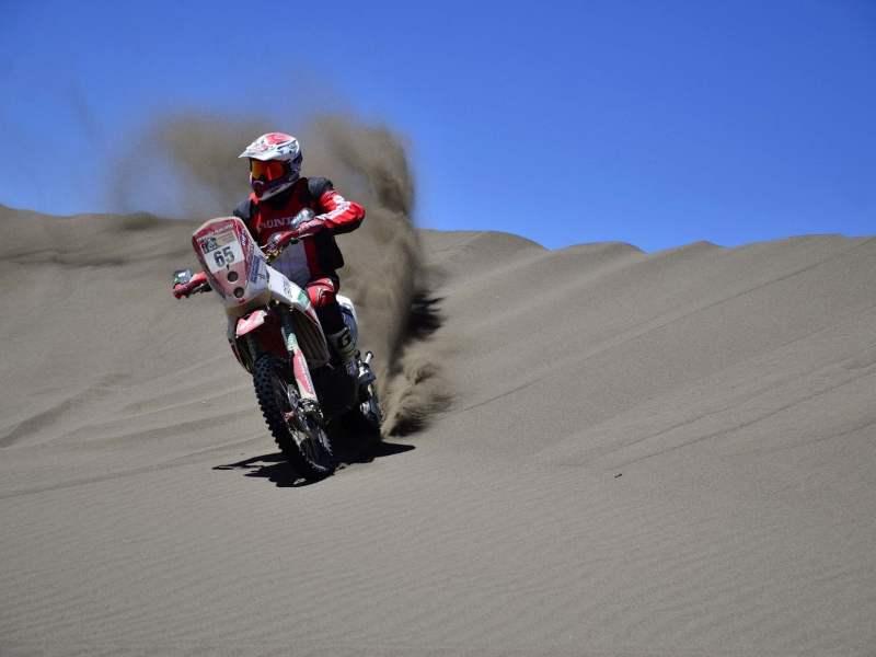 Eduardo Heinrich se despidió del Dakar en la sexta etapa.