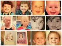 [FOTOS] Increíble: Padres e hijos idénticos por la magia de los genes