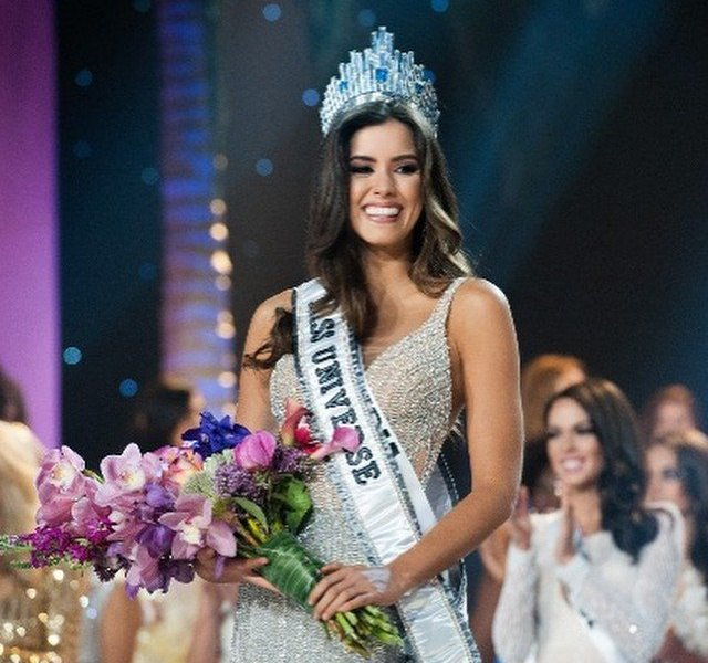 Paulina Vega, la nueva reina (Foto Facebook)
