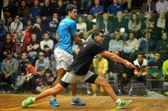 El peruano Diego Elías conquistó otro torneo internacional de Squash.