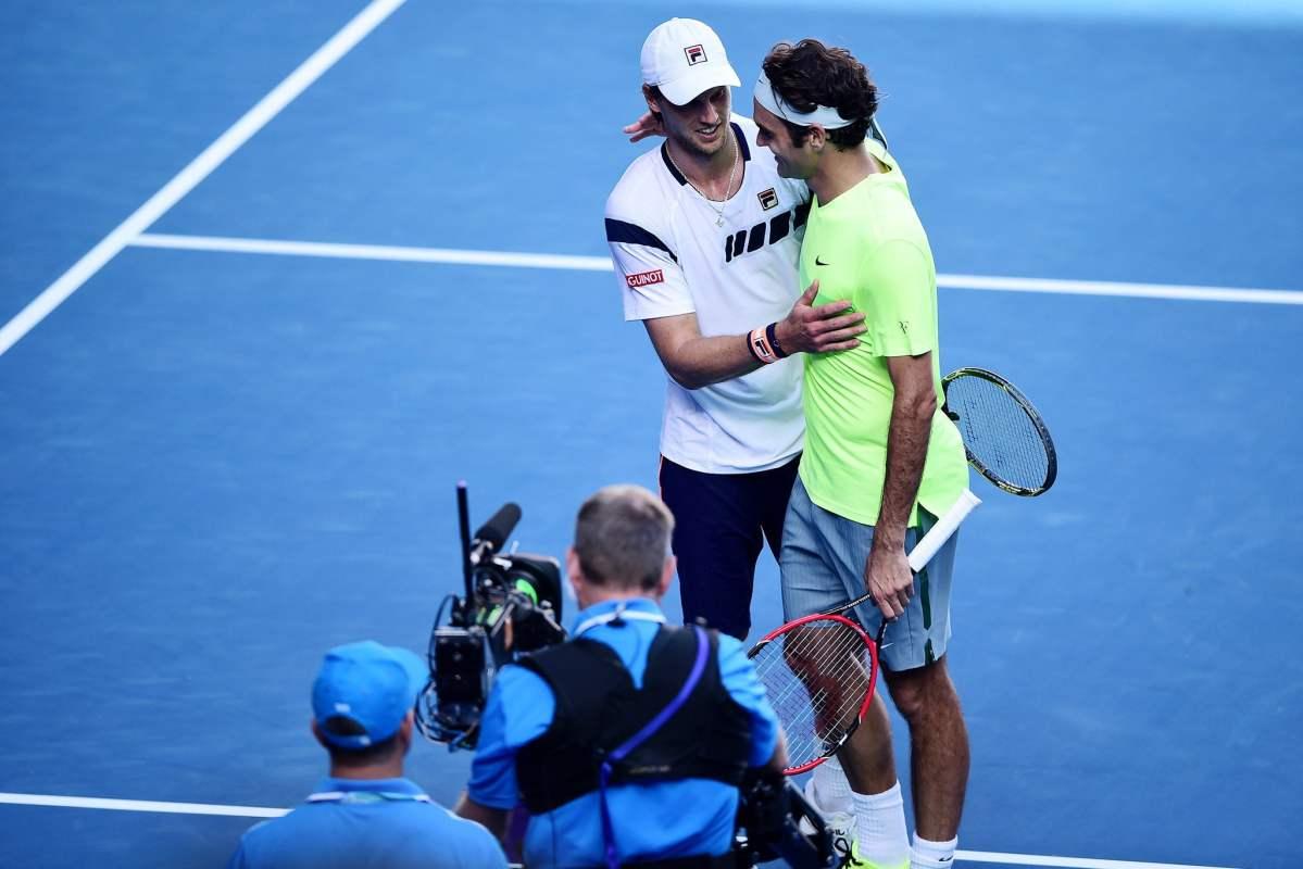 Andreas Seppi jugó a gran nivel y eliminó a Federer.