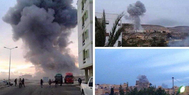 Así bombardeó Egipto al Estado Islámico por decapitar cristianos [VIDEO]