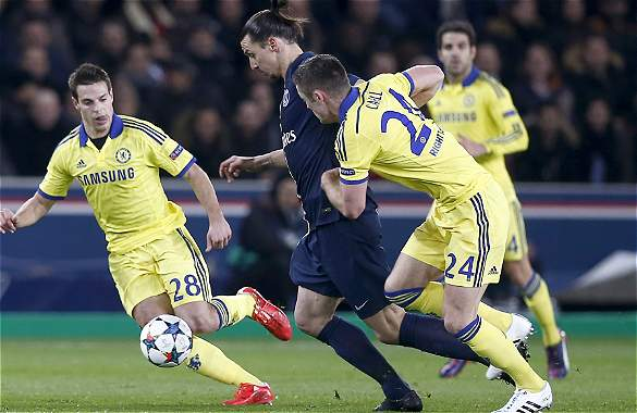 Chelsea sacó leve ventaja ante PSG gracias gol marcado de visita.