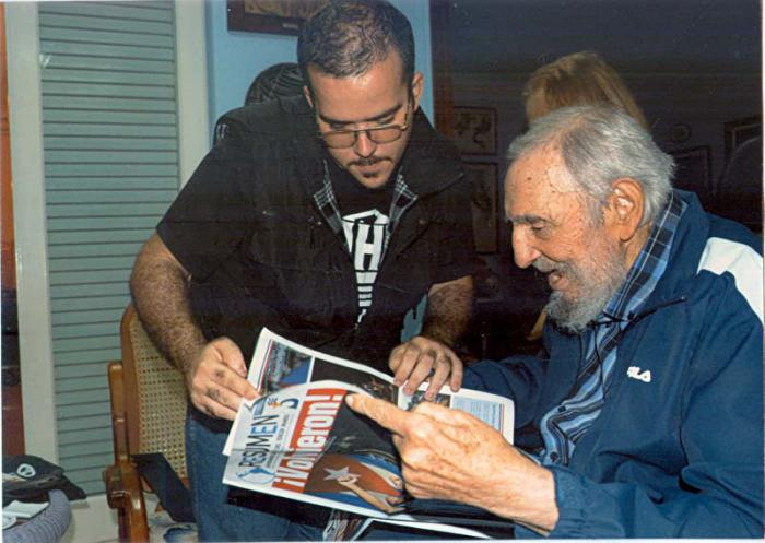 Cuba publica fotos de Fidel Castro para acallar rumores [GALERÍA]