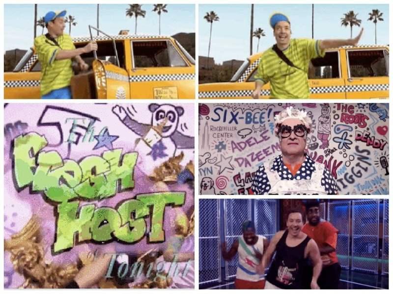 """Para reirse: Jimmy Fallon se transforma en """"El Príncipe del Rap"""""""