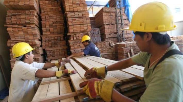 La maderas aserradas se direccionaron principalmente a China.