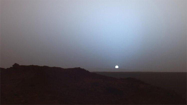 Impactante: Así se ve la puesta del sol desde Marte [VIDEO NASA]