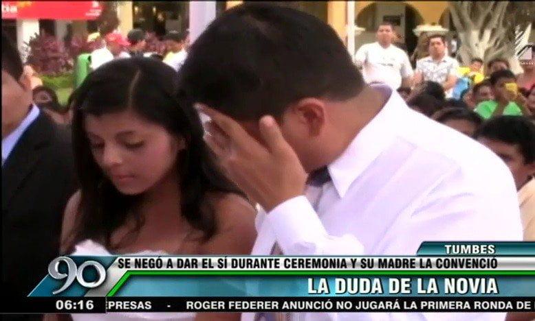 San Valentín: Novia se negó dos veces a dar el sí en matrimonio [VIDEO]