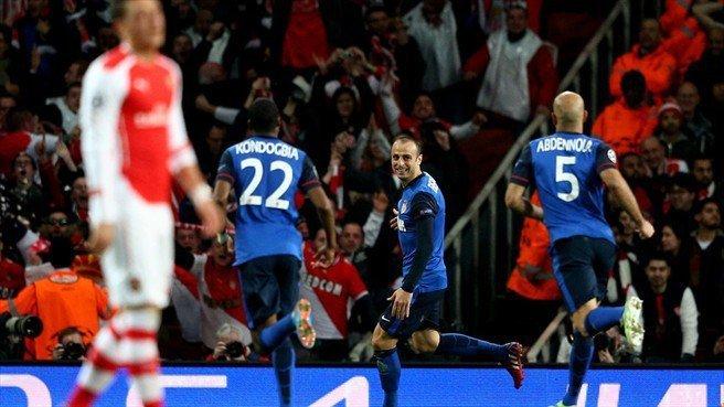 EL Monaco de Francia fue más que el Arsenal en el propio Londres.