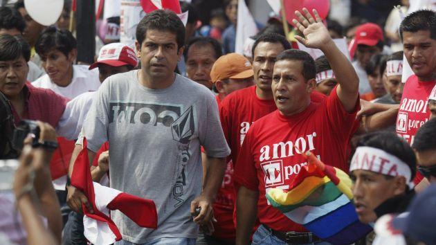 Ollanta Humala y Martín Belaunde (Peru 21)