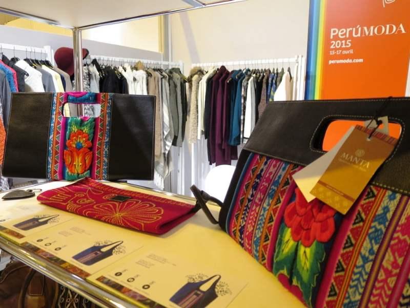 La calidad de accesorios y prendas de alpaca peruanas se puso de manifiesto en el Salón Who's Next de Francia.