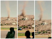 Impactante: mini tornados y vientos huracanados en Lima