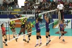 Géminis se encuentra a un solo paso de avanzar a las semifinales del campeonato nacional de voleibol.